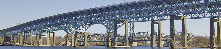 Gold Star Bridge - New London CT